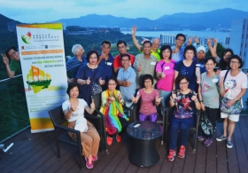 Network of Ageing Well for All (NAWA) Summer Camp in CUHK
