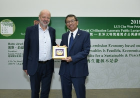 LUI Che Woo Prize – Prize for World Civilisation Laureate Public Lecture by Mr. Hans-Josef Fell (Full Version)