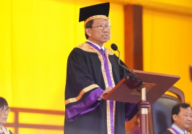 Speech of the Vice-Chancellor in 87th Congregation (Conferment of Bachelor's and Master's Degrees)