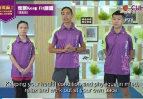 Tips to Keep Fit at Home (English Subtitle)